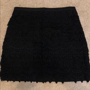 Black Lush Mini Skirt Size S